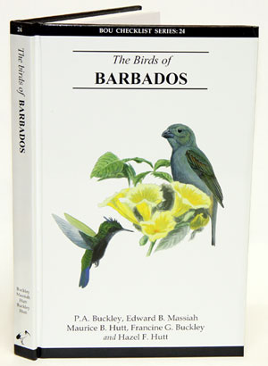 The birds of Barbados. P. A. Buckley.