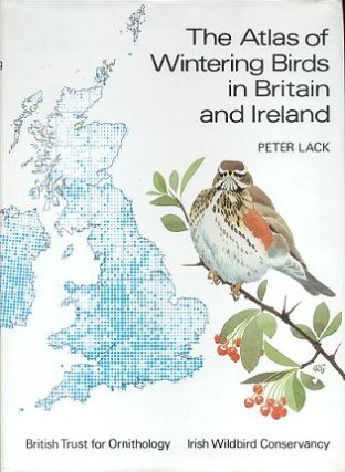 The atlas of wintering birds in Britain and Ireland. Peter Lack