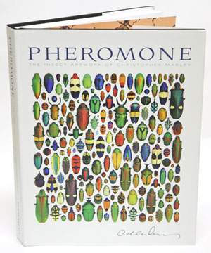 Pheromone: the insect art work of Christopher Marley