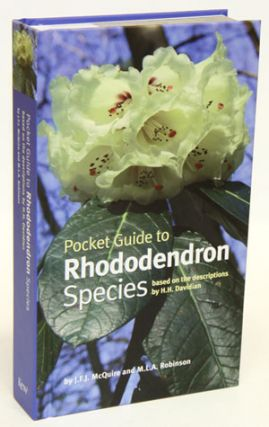 Pocket guide to Rhododendron species: based on the descriptions of H.H. Davidian. J. F. McQuire,...