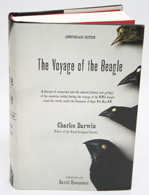 The Voyage of the Beagle. Charles Darwin.