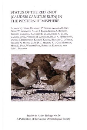 Status of the Red knot (Calidris canutus rufa) in the western hemisphere. Lawrence J. Niles