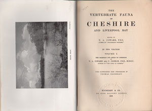 The vertebrate fauna of Cheshire and Liverpool Bay.