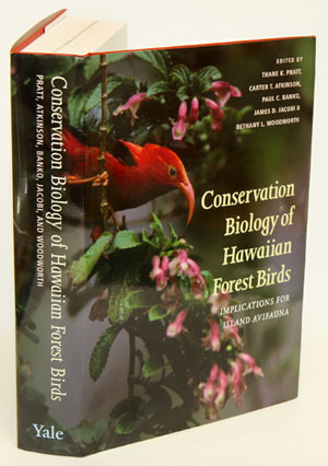 Conservation biology of Hawaiian forest birds: implications for island avifauna. Thane K. Pratt, James D. Jacobi, Paul C. Banko, Carter T. Atkinson, Bethany L. Woodworth.