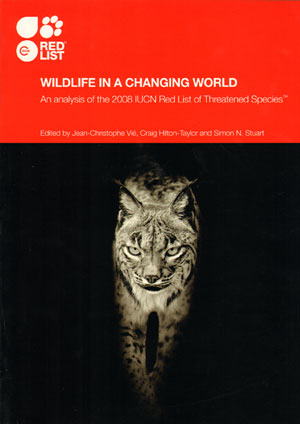 Wildlife in a changing world: an analysis of the 2008 IUCN Red List of Threatened Species....