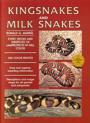 Kingsnakes and milk snakes. Ronald G. Markel.