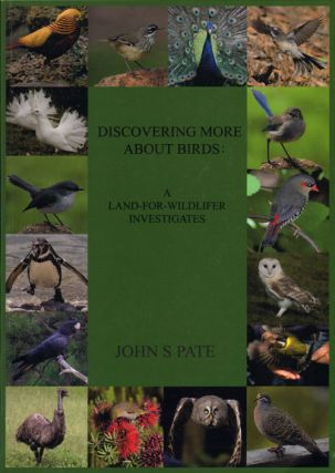 Discovering more about birds: a land-for-wildlifer investigates. John S. Pate.
