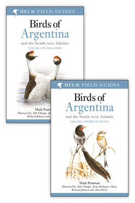 Birds of Argentina and the south-west Atlantic: two volumes. Mark Pearman.