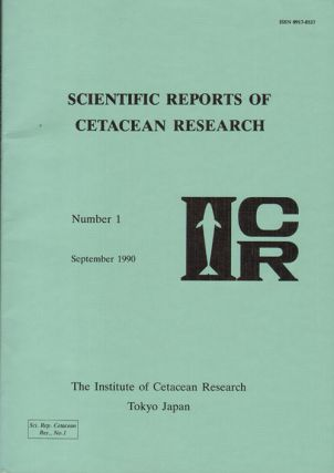 Scientific reports of cetacean research, number 1. D. A. Helweg.