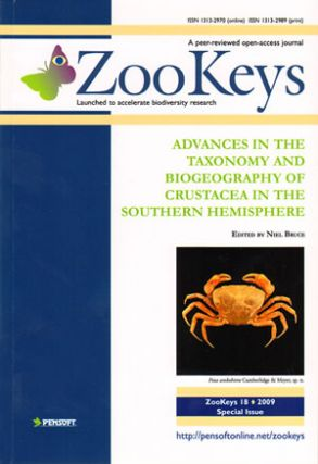 Advances in the taxonomy and biogeography of crustacea in the Southern Hemisphere. N. Bruce.