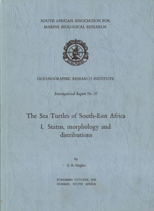 The sea turtles of south-east Africa. I: status, morphology and distributions. G. R. Hughes