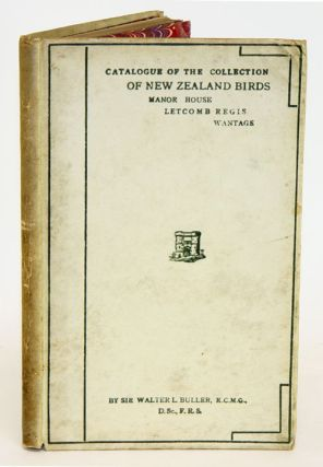 A classified list of Mr. William Silver's collection of New Zealand birds (at the Manor-house,...