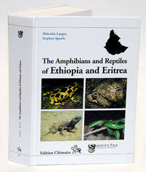 The amphibians and reptiles of Ethiopia and Eritrea. M. Largen, S. Spawls.