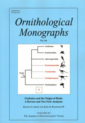 Cladistics and the origin of birds: a review and two new analyses. Frances C. James, John A....