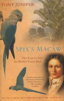 Spix's macaw: the race to save the world's rarest bird. Tony Juniper