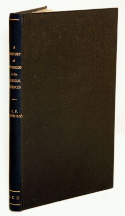 A century of progress in the natural sciences 1853-1953: classification of the algae. George Papenfuss.