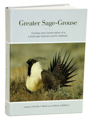 Greater sage-grouse: ecology and conservation of a landscape species and its habitats. Steven T. Knick, John W. Connelly.