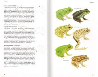 Field guide to the frogs of Australia.