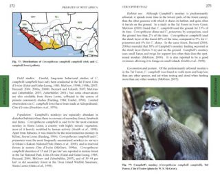 Primates of West Africa: a field guide and natural history.