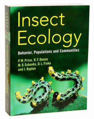 Insect ecology: behavior, populations and communities