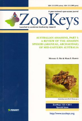 Australian assassins, part 1: a review of the assassin spiders (Araneae, Archaeidae) of mid-eastern Australia. Michael G. Rix, Mark S. Harvey.