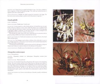 Australian medicinal plants: a complete guide to identification and usage.