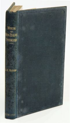 An Elementary Manual of New Zealand Entomology. G. V. Hudson