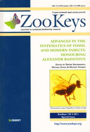 Advances in the systematics of fossil and modern insects: honouring Alexandr Rasnitsyn. Dmitry...