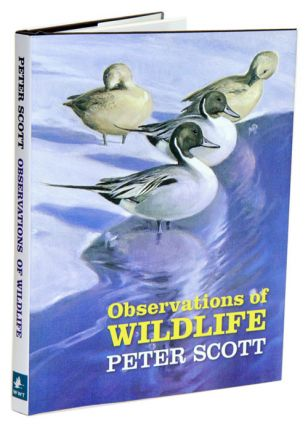 Observations of wildlife. Peter Scott