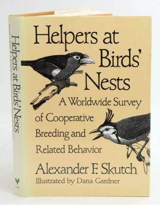 Helpers at birds' nests: a worldwide survey of cooperative breeding and related behavior