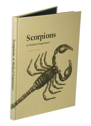 Scorpions of medical importance. Hugh L. Keegan