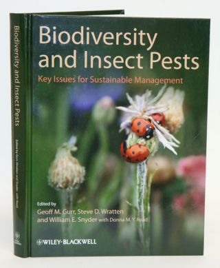 Biodiversity and insect pests: key issues for sustainable management. Geoff M. Gurr