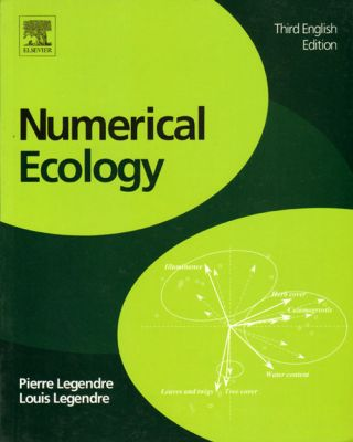 Numerical ecology. Pierre and Louis Legendre