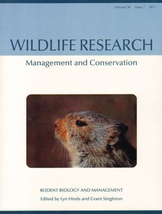 Rodent biology and management: Wildlife Research Special Issue, volume 38 number 7. Lyn Hinds,...