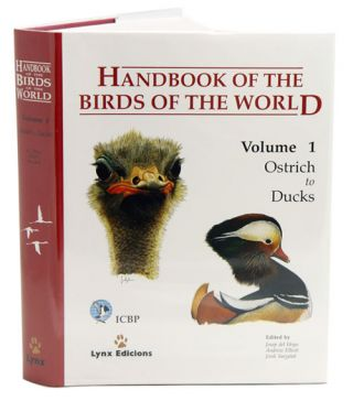 Handbook of the birds of the world [HBW], volume one: Ostrich to ducks. Josep del Hoyo
