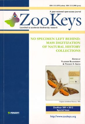 No specimen left behind: mass digitization of natural history collections. Vladimir Blagoderov,...