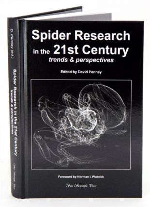 Spider research in the 21st century. David Penney.