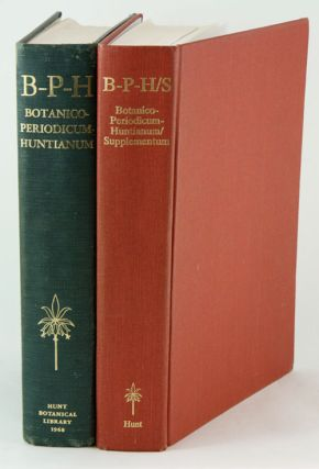 Botanico-Periodicum-Huntianum (BPH) with Supplement. George H. M. Lawrence.