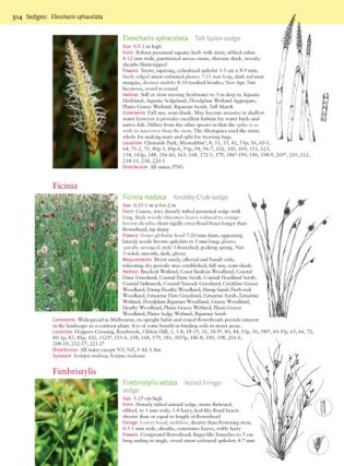 Flora of Melbourne: a guide to the indigenous plants of the Greater Melbourne area.