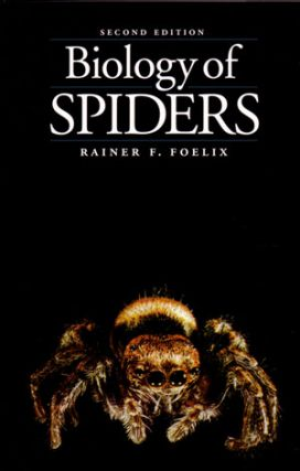 Biology of spiders. Rainer F. Foelix.