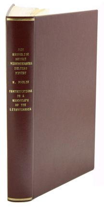 M. Foslie. Contributions to a monograph of the Lithothamnia