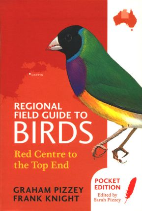 Regional field guide to birds: red centre to the top end.