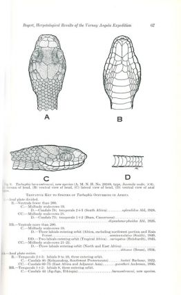 Herpetological results of the Vernay Angola Expedition.