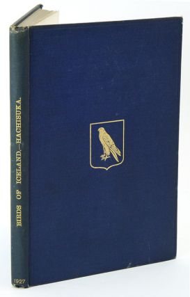 A handbook of the birds of Iceland. Masa U. Hachisuka