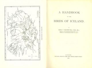 A handbook of the birds of Iceland.