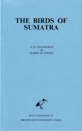 The birds of Sumatra: an annotated check-list