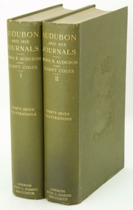 Audubon and his journals: with zoological and other notes by Elliott Coues. Maria R. Audubon