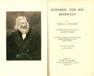 Audubon and his journals: with zoological and other notes by Elliott Coues.