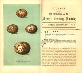 Journal of the Bombay Natural History Society.
