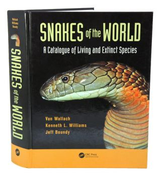 Snakes of the world: a catalogue of living and extinct species.